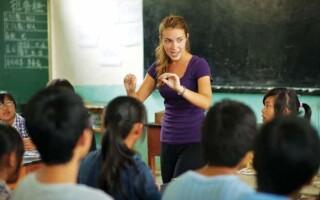 Преподаватель английского языка в Китае