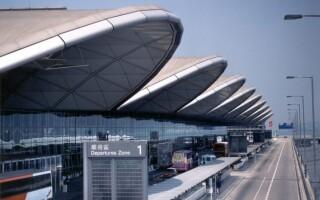 Международный аэропорт Гонконга: схема на русском