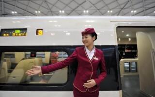 Шанхай — Пекин: скоростной поезд