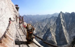 Гора Хуашань Китай — Тропа Смерти — почему так прозвали?