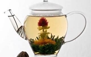 Китайский связанный чай — цветок