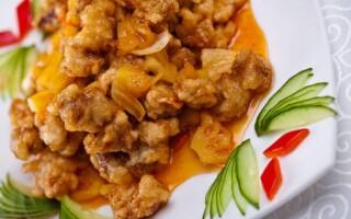 Китайские блюда из свинины