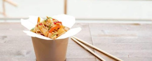Как приготовить китайскую лапшу в коробке