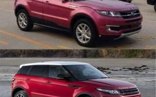 Китайский аналог Range Rover Evoque: Landwind X7 — цена и фото в России