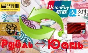 Как из Китая перевести деньги в Россию
