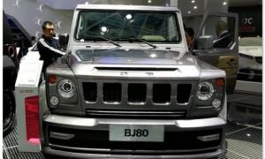 Китайский Гелендваген BAIC BJ80: цена и фото в России