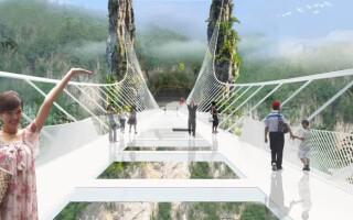 Стеклянный мост в Китае — вся правда о достопримечательности