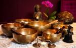 Поющие тибетские чаши: виды и где применяются