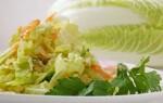 Китайская капуста: рецепты