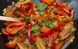 Курица по-китайски: рецепт с фото