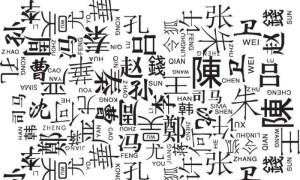 Китайские женские и мужские имена и фамилии – история возникновения