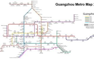 Метро Гуанчжоу время работы и карта