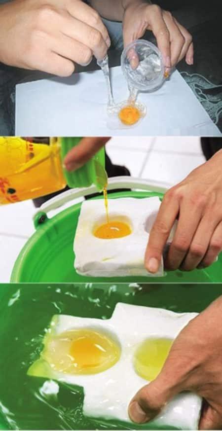 Китайские искусственные яйца