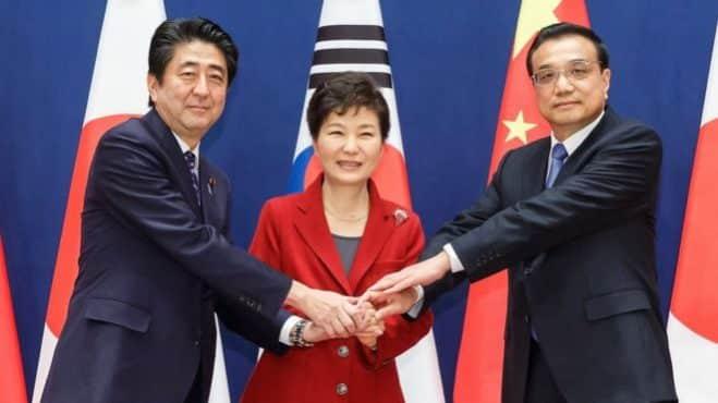 Китайско-южнокорейские отношения