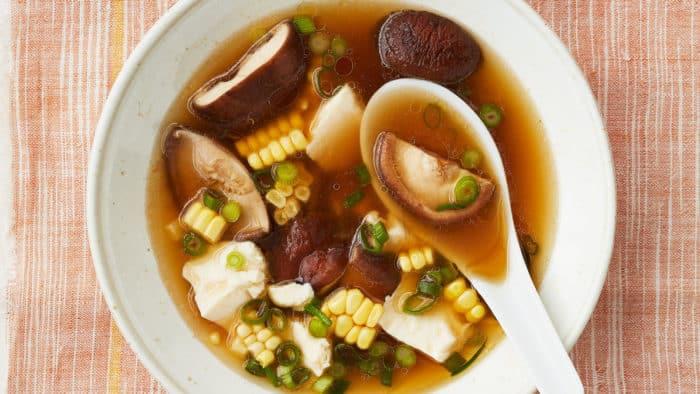 Кукурузный с грибами