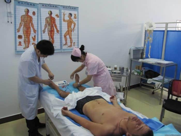 Лечение позвоночника в Китае