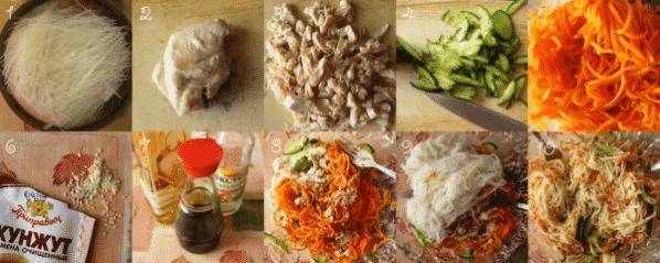 Картофельная фунчоза