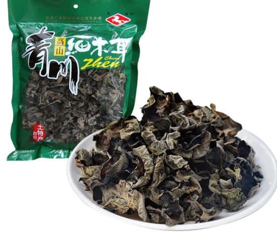 Прессованные сухие китайские грибы