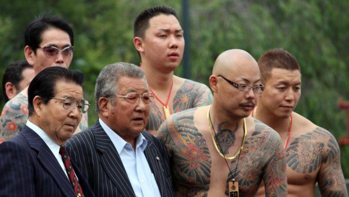 Различные группировки китайской мафии