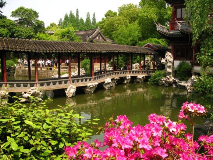 Шанхай может похвастаться садом Радости