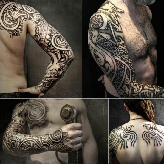 Татуировки и их вариации в триаде