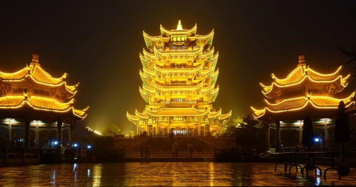 башне Желтого Журавля