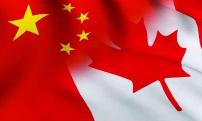 китай и канада
