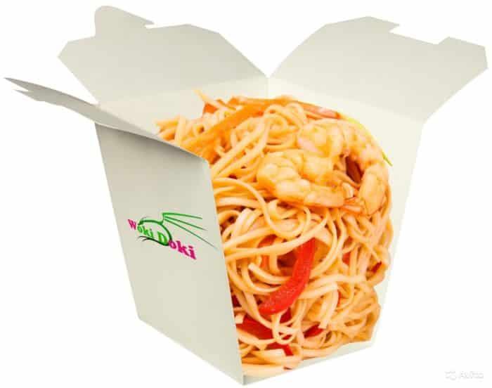 китайская лапша в коробочках