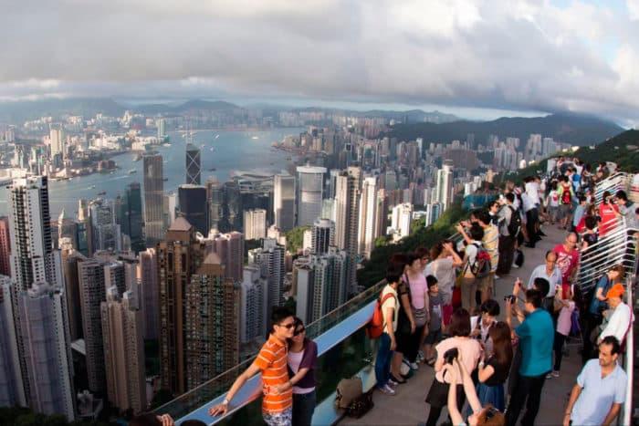 Пик Виктория в Гонконге: как добраться, время работы
