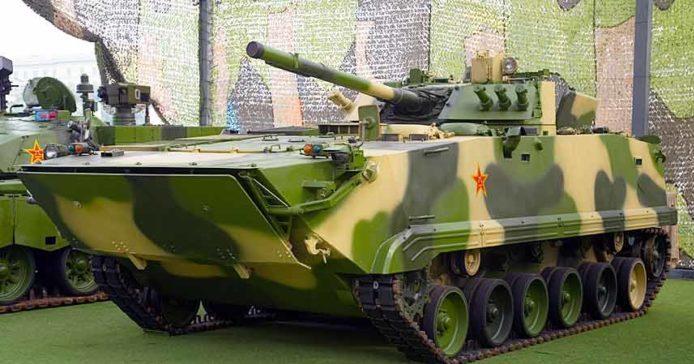 Боевая машина пехоты Тип 97 ZBD-97 Китай