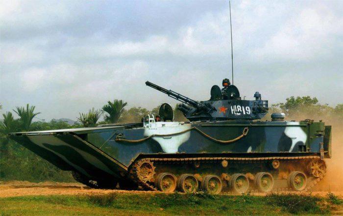 Боевая машина пехоты ZBD-2000 Китай