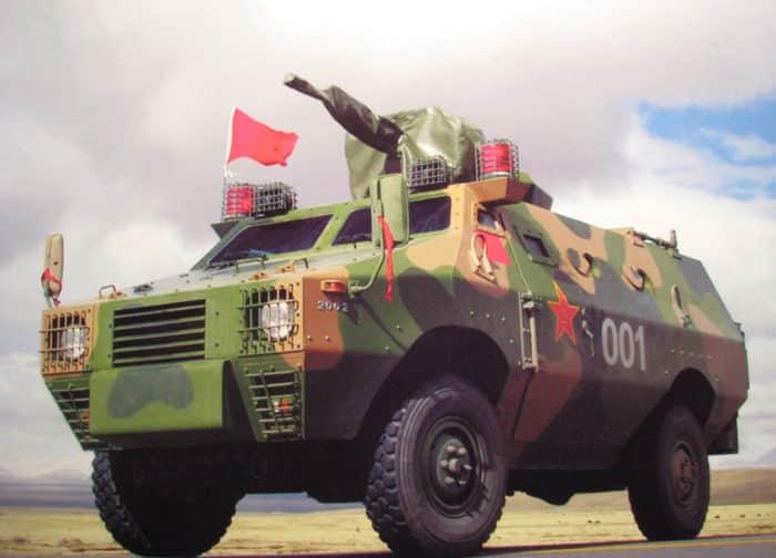 Бронетранспортер ZFB-05 Китай