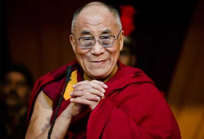 Далай-ламой