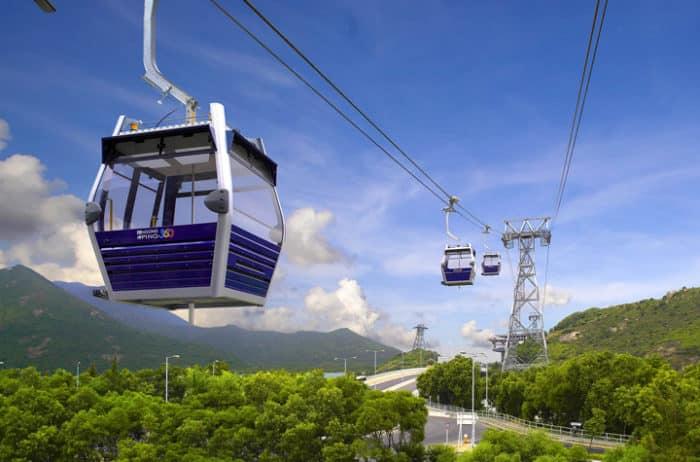 Канатная дорога Нгонг Пинг ( Ngong Ping) 360
