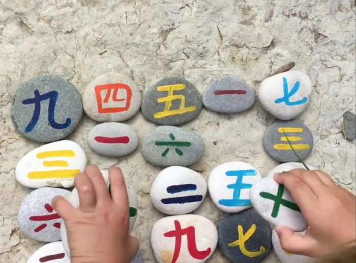 Китайские числительные от 1 до 10