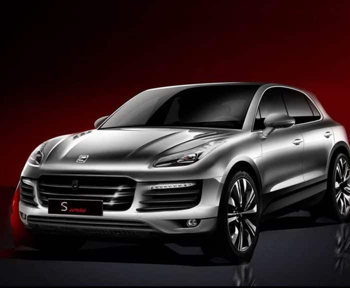 Китайский аналог Porsche Macan - Zotye SR8