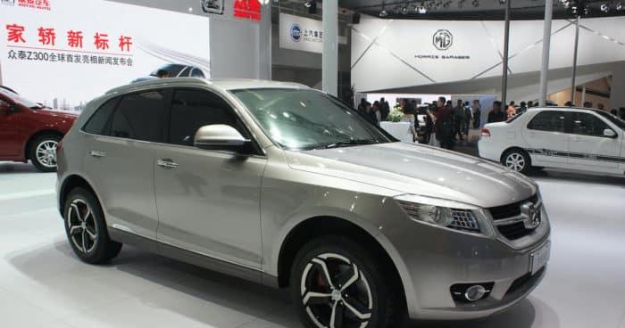 Китайский кроссовер Zotye T600 клон VW Touareg