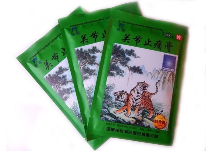 Китайский пластырь обезболивающий