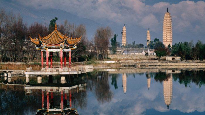 Китай в октябре