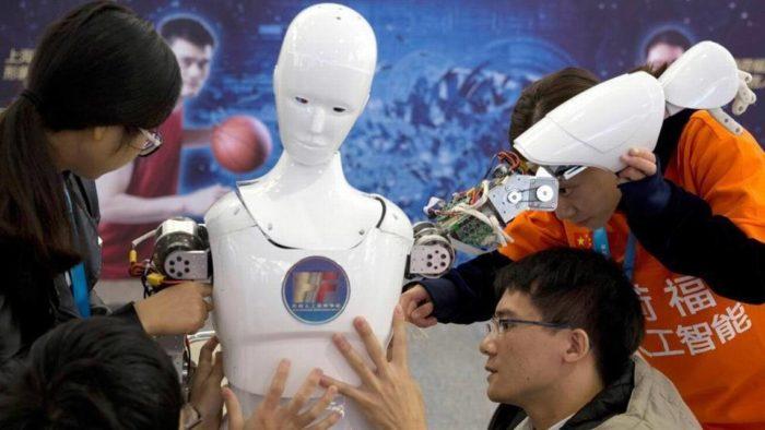 Международная демонстрация технологий и электроники в Китае