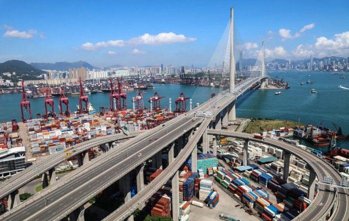 Морские порты гонконг
