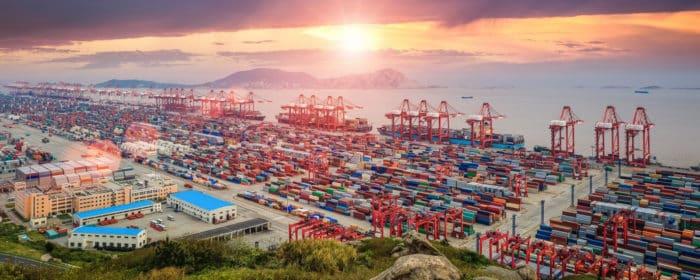 Морские порты в Китае