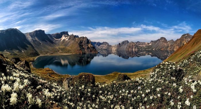 Пэктусан и озеро Чхончжи
