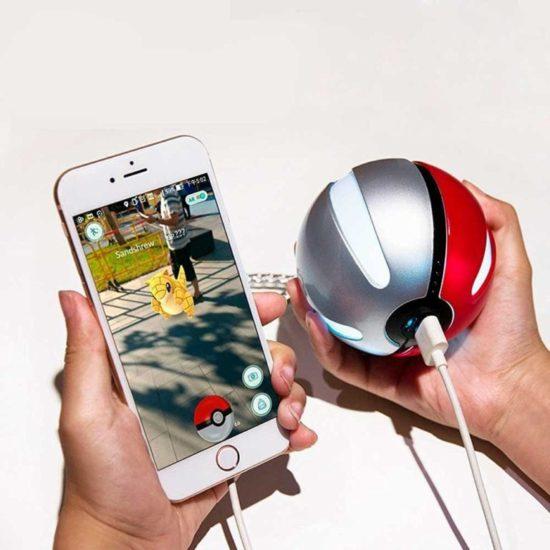 Pokemon Go обрадуются портативному зарядному устройству.