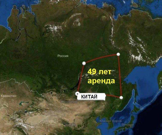Продажа Сибири Китаю