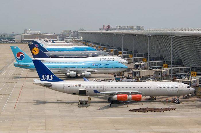 Схема воздушной гавани