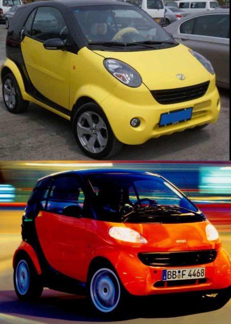 Shuanghuan Auto Noble и Smart