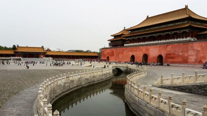 Сооружение и династия Мин