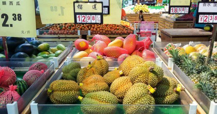 Цены на питание в Хайнане