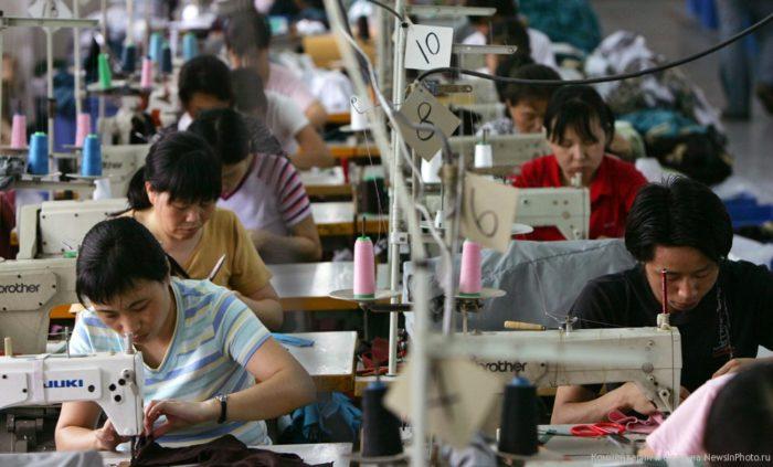 Текстильная, швейная промышленность и сопутствующие инструменты